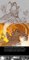 Elemental Flames Process