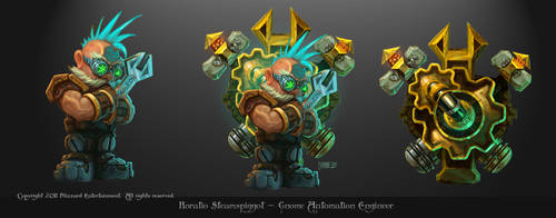Gnome Engineer by AncientSources
