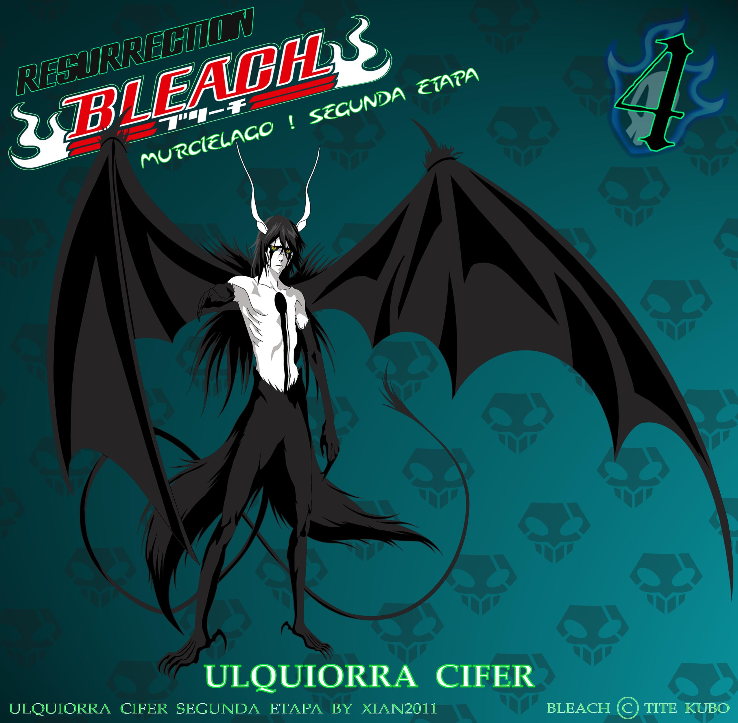 Resurrection Ulquiorra Cifer - Segunda Etapa - by B-FT-OP ...