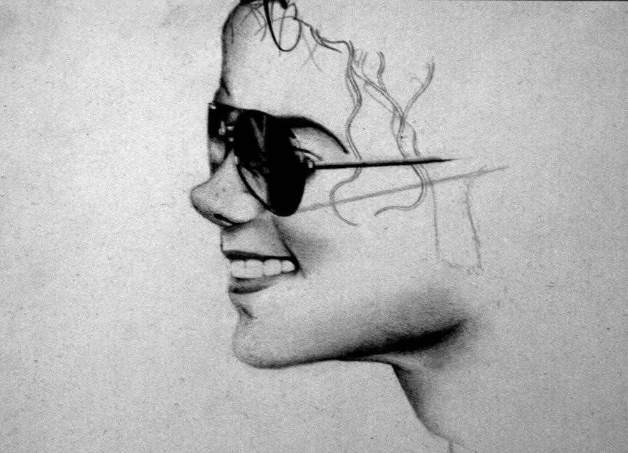 Michael Jackson Drawing 2 by JemmaNicoleJoyce on DeviantArt Drawings Of Michael Jackson Easy