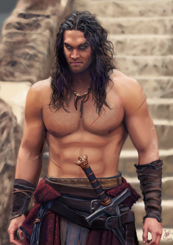Conan the barbarian. by jodeee