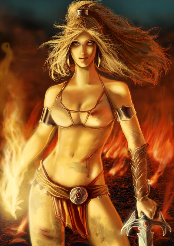 golden axe babe nude