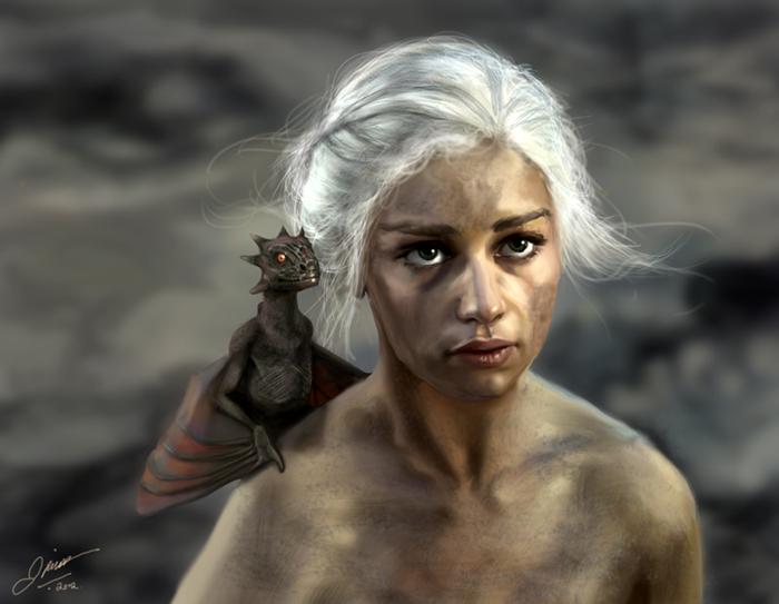 Daenerys Targaryen by jodeee