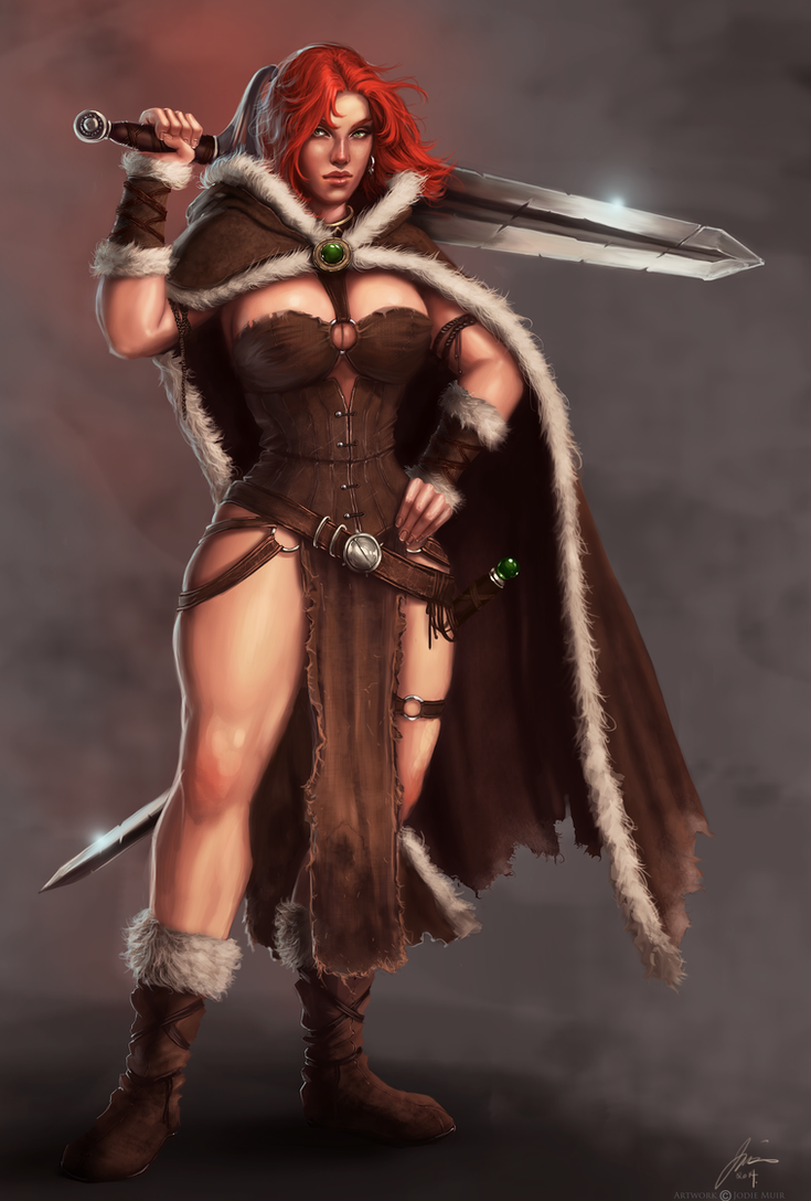 Barbarian tribal woman - 1 part 9