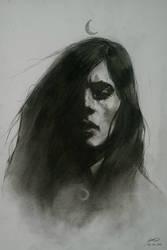 Witch portrait. by jodeee
