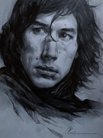 Kylo Ren - sketch by jodeee