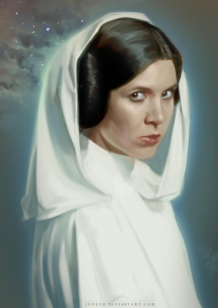 Princess Leia By Jodeee On Deviantart
