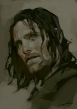 Aragorn speedy by jodeee