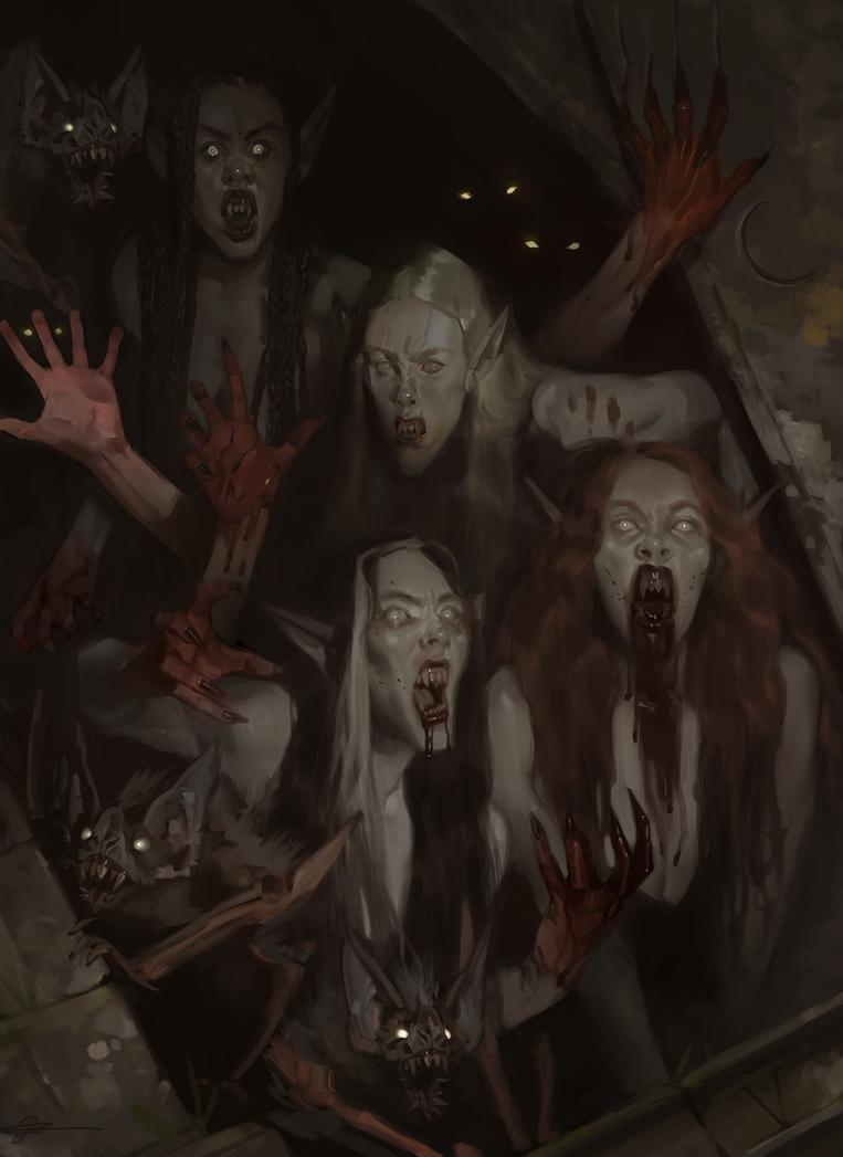 Vampires!! by jodeee
