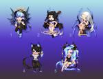 Dark Spirit Gaia Adopt Batch    5 OPEN    by Caramello-Momo
