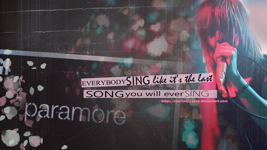 wallpaper paramore. Paramore wallpaper - Hayley W.