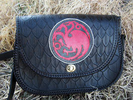 Khaleesi Targaryn Purse by SnowyMountainLeather