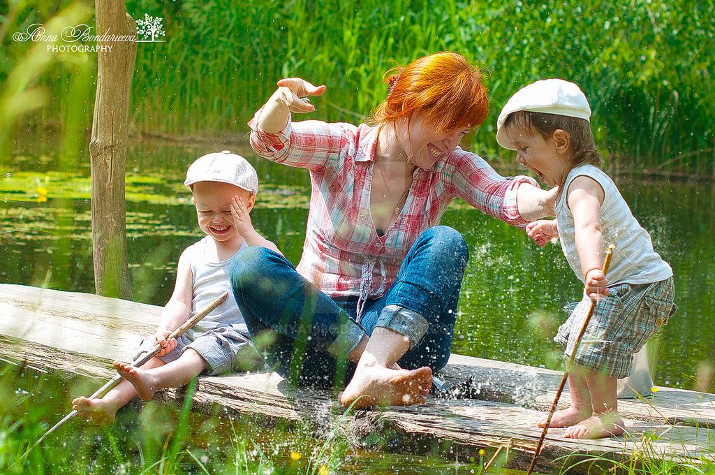 увлечение рыбалкой нашей семьи