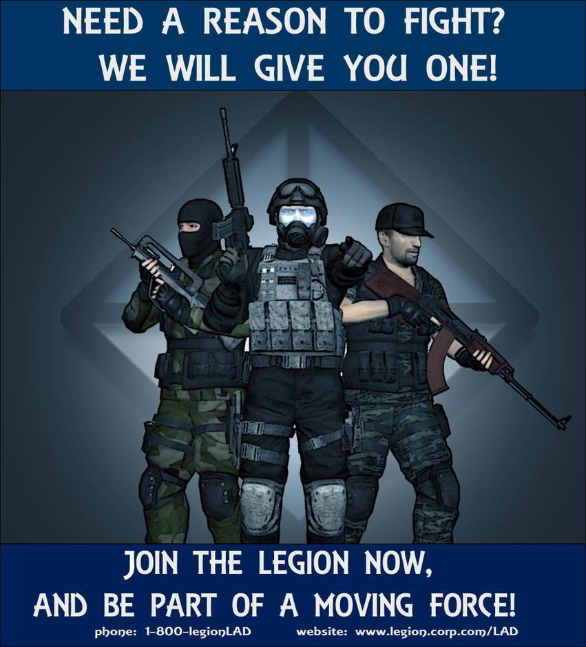 Lad Propaganda Poster by HallanKobin