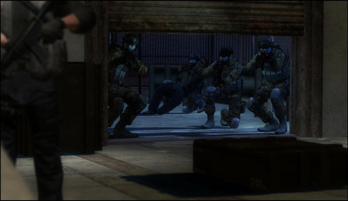 Warehouse raid by HallanKobin