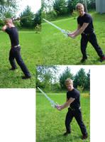 Guy and Sword Stock IX by Melyssah6-Stock
