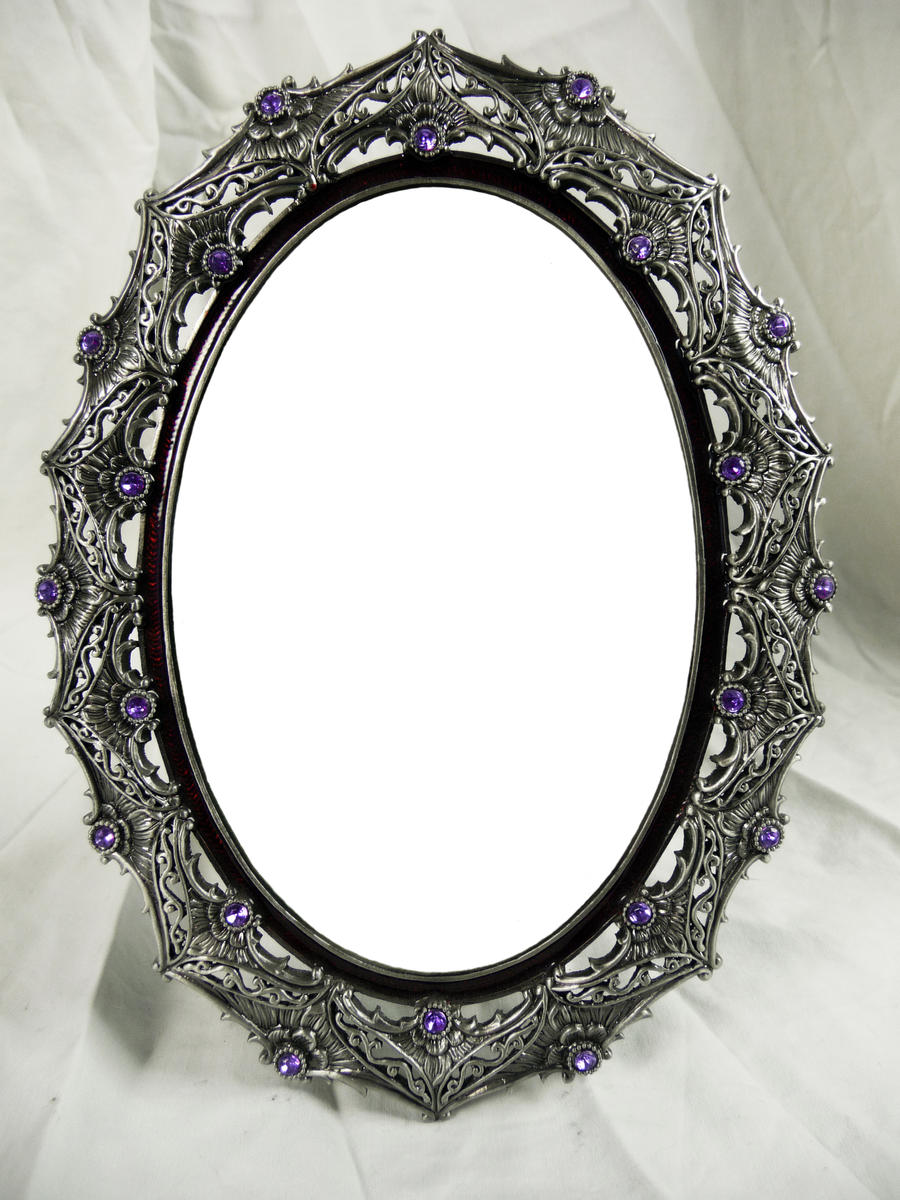 Ornate Silver Frame - Long Oval by EveyD on DeviantArt