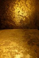Gold Metallic Texture I by Melyssah6-Stock