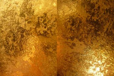 Gold Metallic Texture III by Melyssah6-Stock