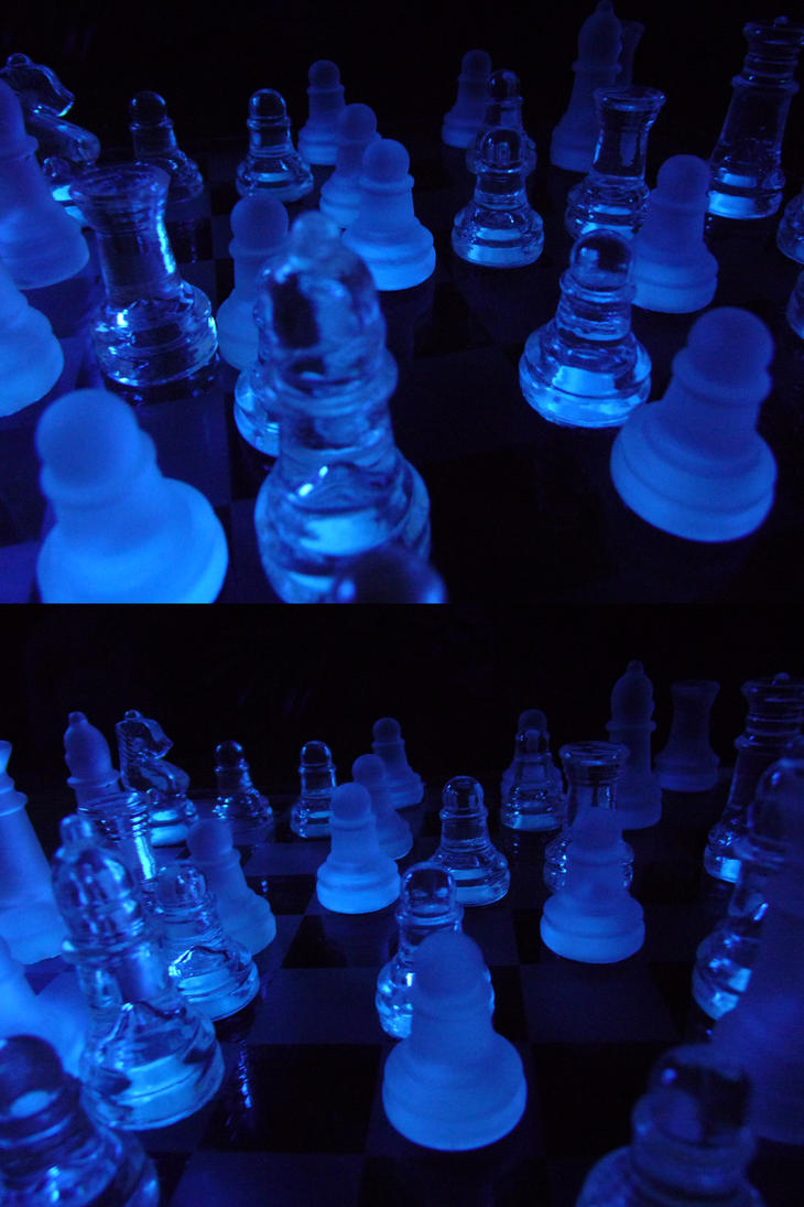 Blacklight Chess Stock VI by Melyssah6-Stock