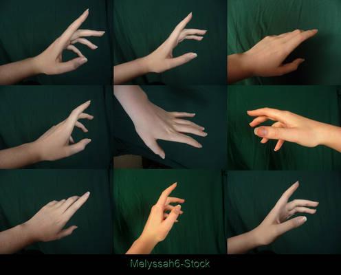 Hand Pose Stock - Reaching
