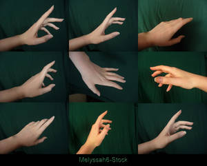 Hand Pose Stock - Reaching
