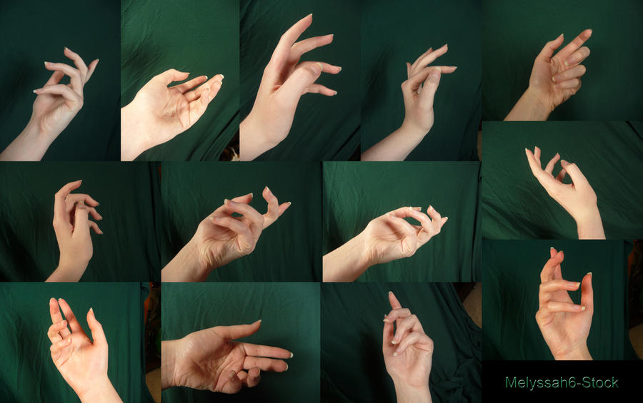 Hand Pose Stock - Classical