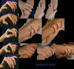 Hand Pose - Gripping - Shoulder/Arm