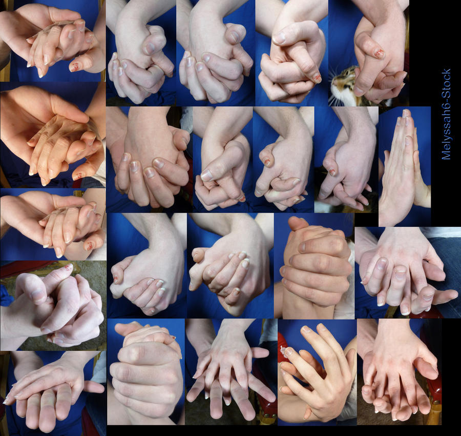 Hand Pose - Holding Hands 1