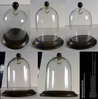 Glass Display Case Stock - Bell Jar by Melyssah6-Stock