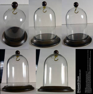 Glass Display Case Stock - Bell Jar