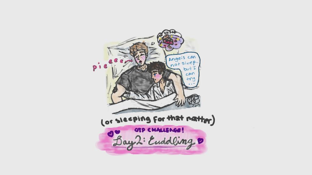 (Destiel) OTP Challenge Day 2: Cuddling by dayfriendnightfangrl