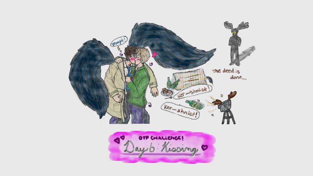 (Destiel) OTP Challenge Day 5: Kissing by dayfriendnightfangrl