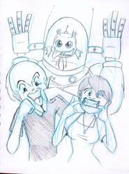 Megamind silly faces by akuma-neko