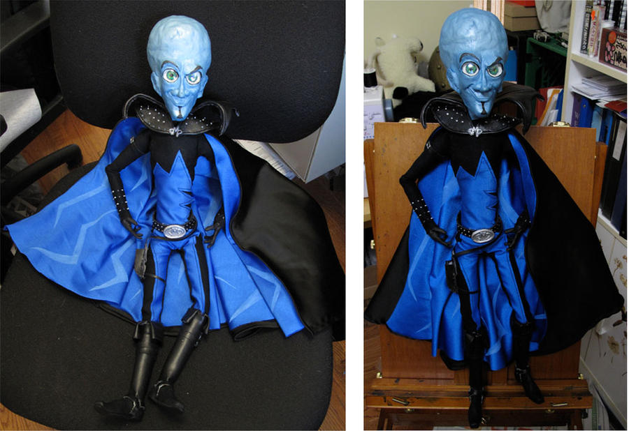 Megamind doll by akuma-neko