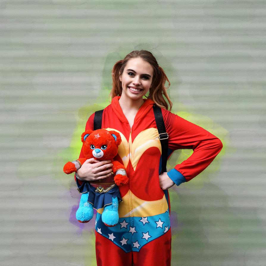 WonderWoman in PJ's SCFX2017 02 - Abdella by Abdella-Photo-Art