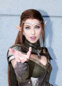 High Elf (Elder Scrolls) C2E2 2018 03 - Abdella