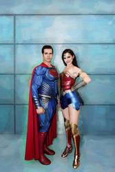 Superman w Wonder Woman NYCC2018 05 - Abdella