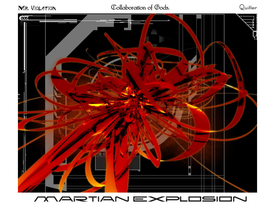 Martian Explosion by quitter