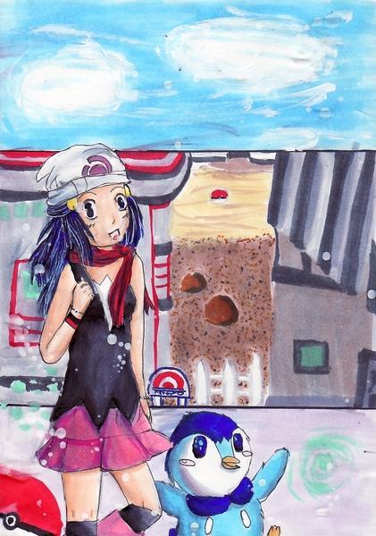 Junk: Hikari-chan - Pochama by Sanci