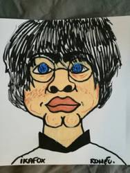caricature harry potter