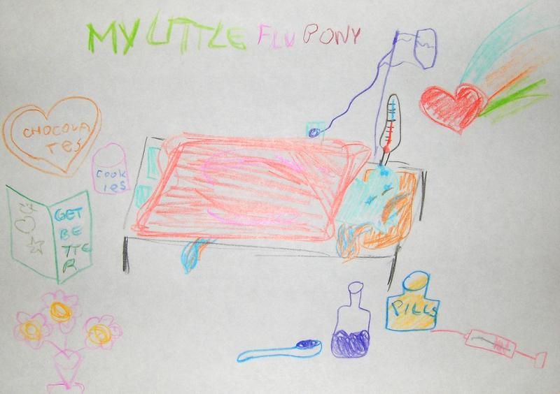 My Little Flu Pony by DeadPrincessa