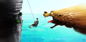 Mega-Otter attacks ! by MarekDolata