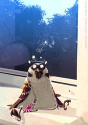the sparrow kamikaze by MarekDolata