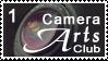 CameraArtsClub Stamp - White by CameraArtsClub