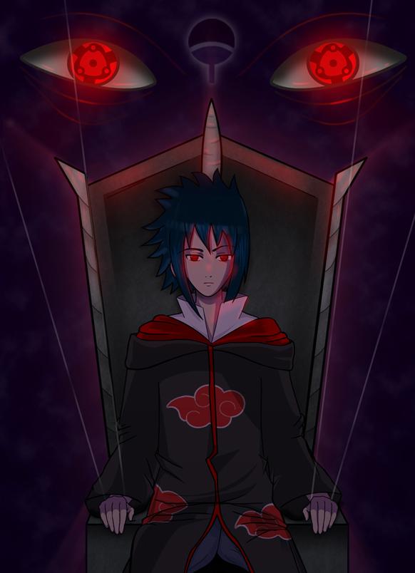 akatsuki sasuke by Himu-Chan
