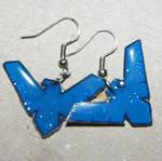 Nightwing Earrings