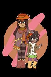 zora and molly