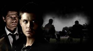 Dean and Castiel by ForgotenWolf13