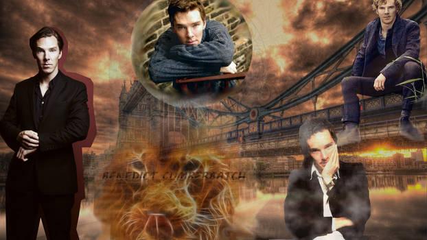 Benedict Cumberbatch - London bridge sunrise